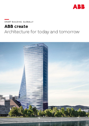 ABB create – Architecture for today and tomorrow