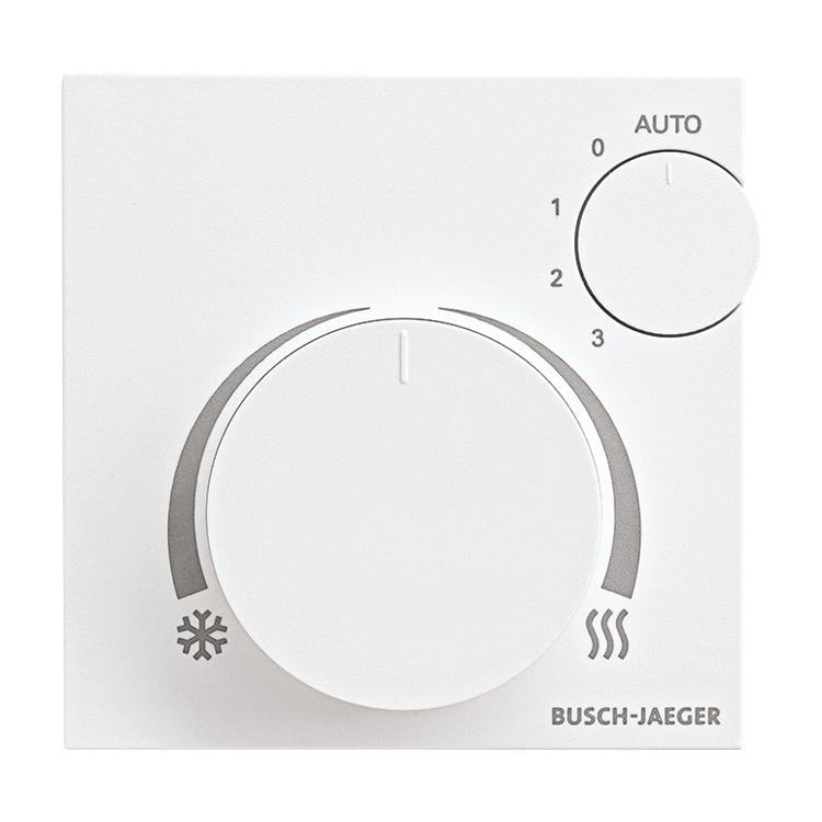Busch-Jaeger 6138//11-84 Raumtemperaturregler Fan Coil mit Display AP