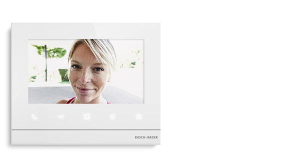 videoscherm voor binnen - Smarter Home - Busch-Welcome®  Deurcommunicatie