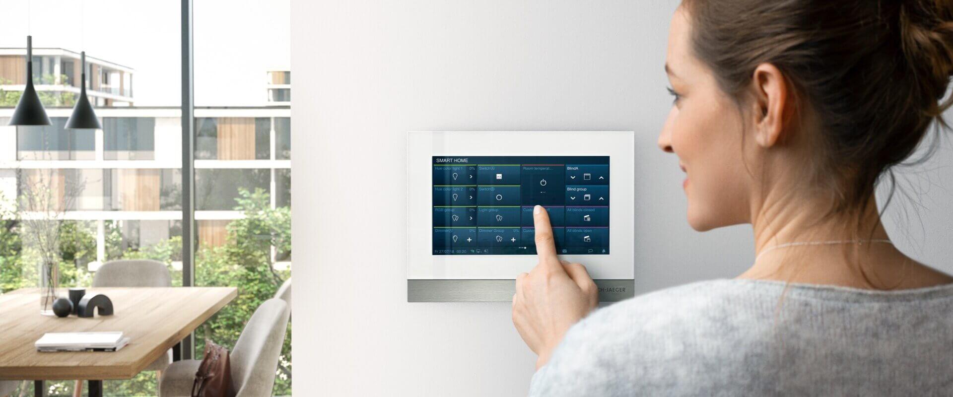 Toegangscontrole van woningen en gebouwen - Busch-Welcome® IP
